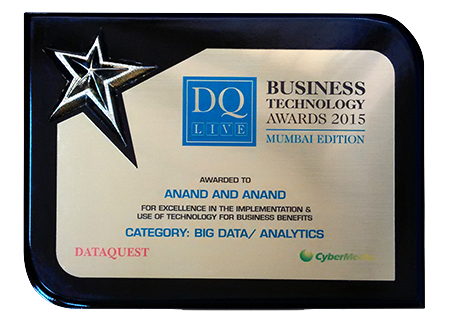 """<span>""""Big Data/Analytics""""</span> at Dataquest Business Technology Awards"""