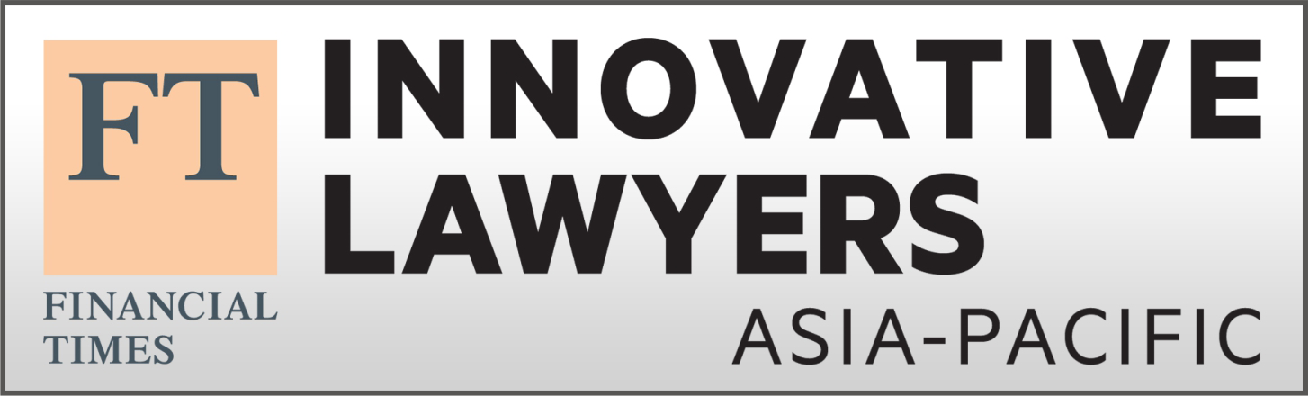 Financial Times Most Innovative Lawyers Asia Pacific