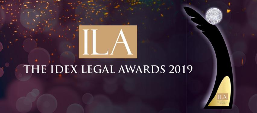 Idex Legal Awards 2019
