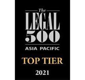 Legal 500 Asia-Pacific 2021